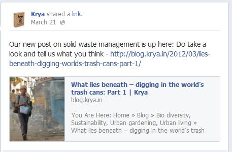 Krya on Facebook